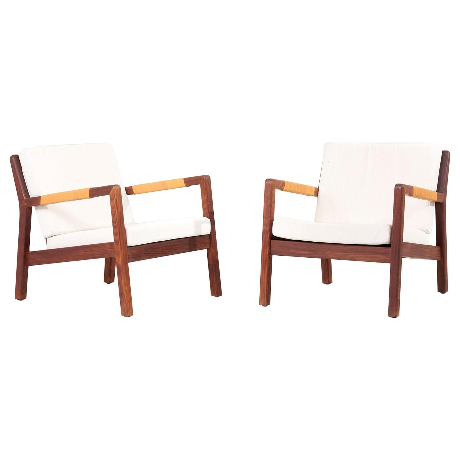 Pair of Lounge Chairs by Carl Gustav Hiort af Ornäs, 1950s