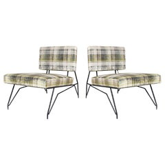Pair of Lounge Chairs by Cerruti Di Lissone, Italy, 1950s