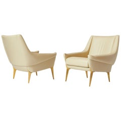 Pair of Lounge Chairs by Charles Ramos