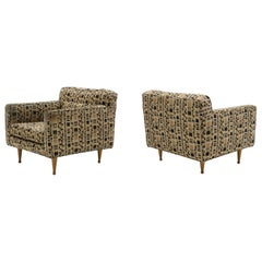 Pair of Lounge Chairs by Edward Wormley for Dunbar, Priced for Reupholstery