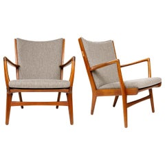 Pair of Lounge Chairs by Hans Wegner for AP Stolen