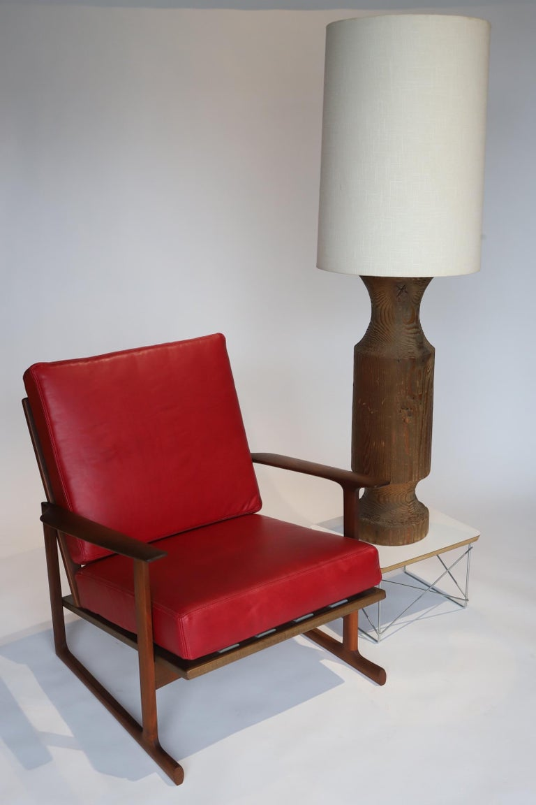 Pair of Lounge Chairs by Ib Kofod-Larsen For Sale 4