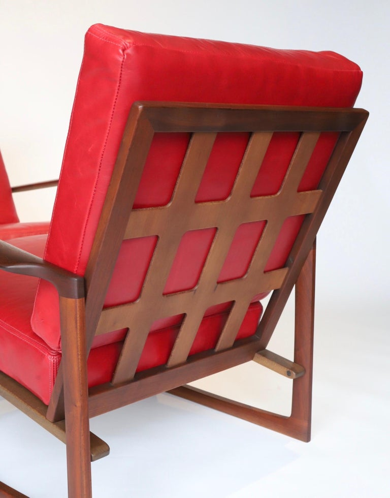 Pair of Lounge Chairs by Ib Kofod-Larsen For Sale 10