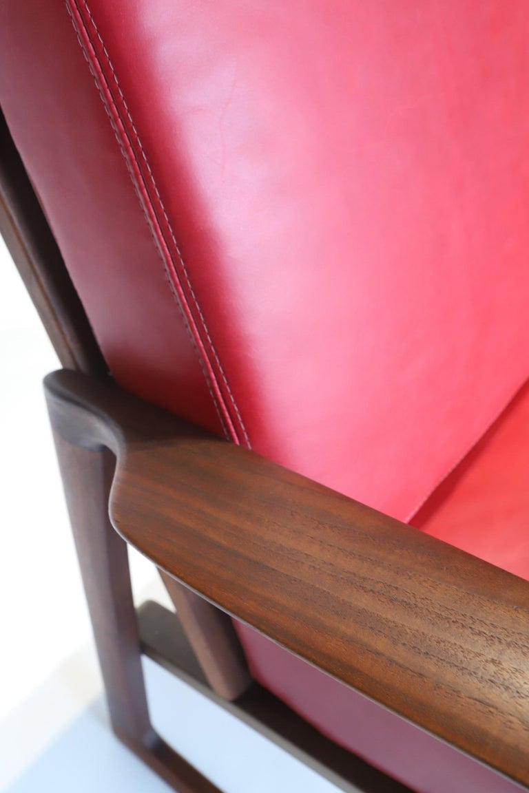 Pair of Lounge Chairs by Ib Kofod-Larsen For Sale 11