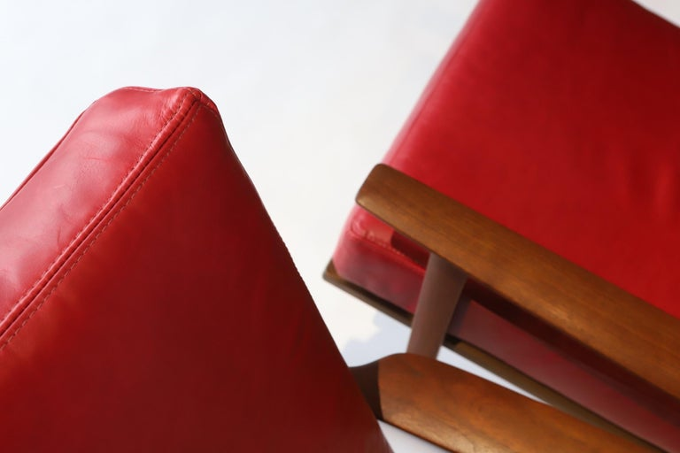 Pair of Lounge Chairs by Ib Kofod-Larsen For Sale 12