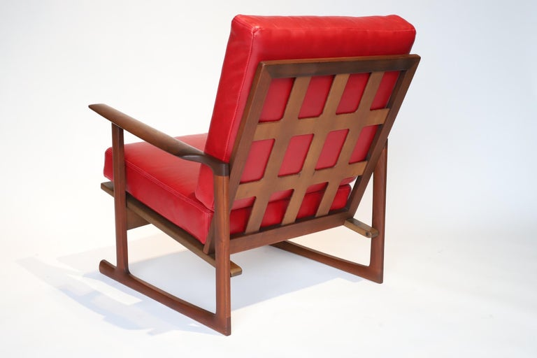 Pair of Lounge Chairs by Ib Kofod-Larsen In Good Condition For Sale In Oklahoma City, OK