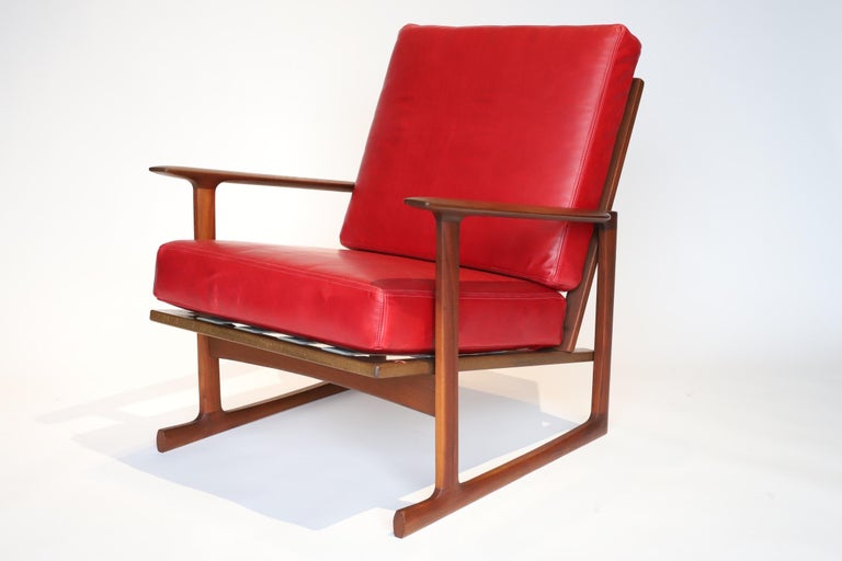 Pair of Lounge Chairs by Ib Kofod-Larsen For Sale 2