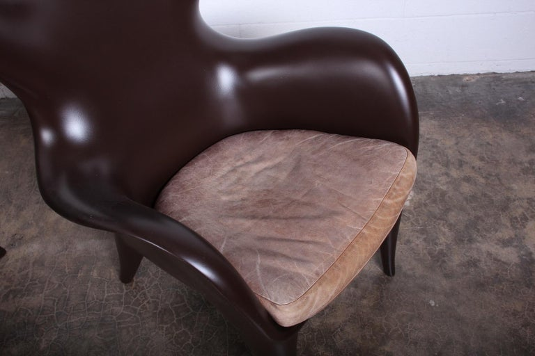 Pair of Lounge Chairs by Jordan Mozer For Sale 3