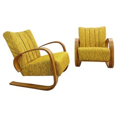 Pair of Lounge Chairs by Miroslav Navratil, 1930s