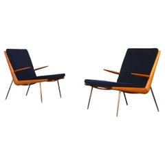 Pair of Lounge Chairs by Peter Hvidt & Orla Mølgaard-Nielsen, Denmark, 1960s
