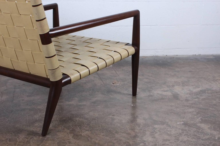 Pair of Lounge Chairs by T.H. Robsjohn-Gibbings For Sale 6