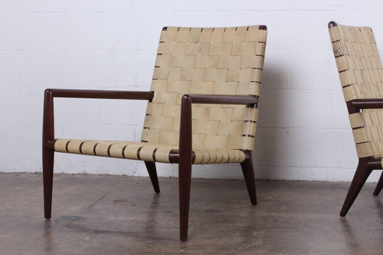 Pair of Lounge Chairs by T.H. Robsjohn-Gibbings In Good Condition For Sale In Dallas, TX