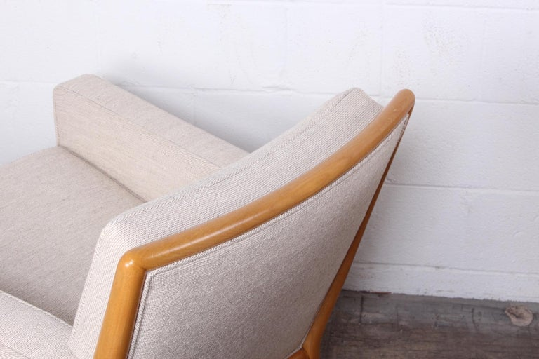 Pair of Lounge Chairs by T.H. Robsjohn-Gibbings For Sale 3