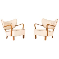 Pair of Lounge Chairs by Viggo Boesen