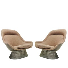 Pair of Lounge Chairs by Warren Platner