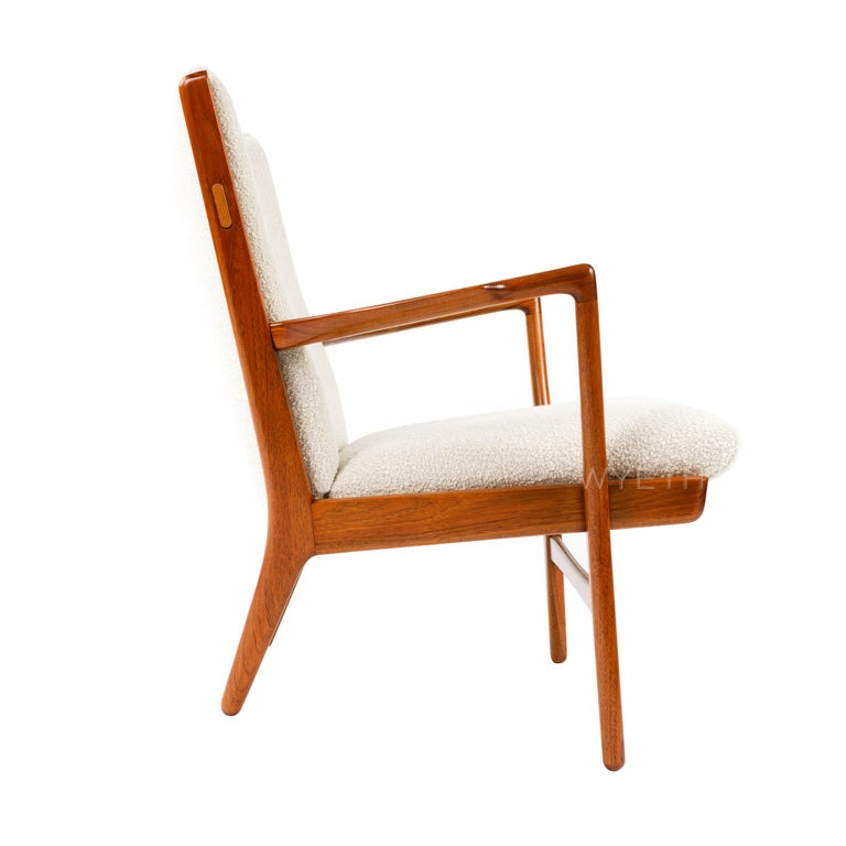 Danish Pair of Lounge Chairs For Sale