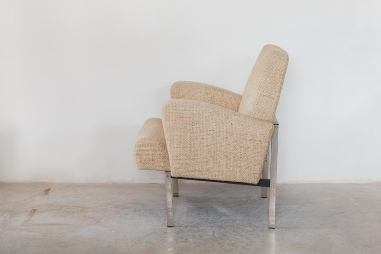 Late 20th Century Pair of Lounge Chairs in Style of Milo Baughman for Thayer Coggin For Sale