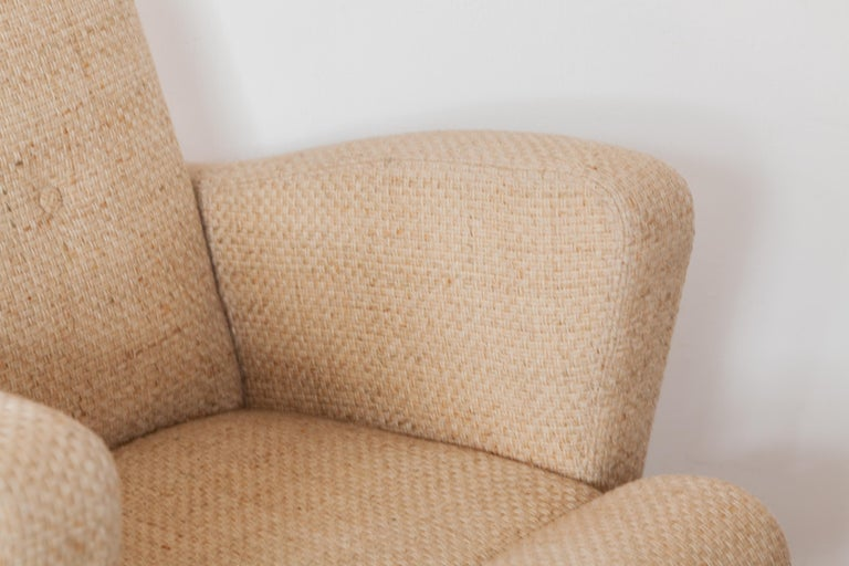Pair of Lounge Chairs in Style of Milo Baughman for Thayer Coggin For Sale 1