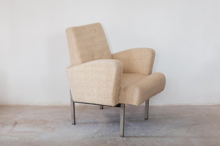 Pair of Lounge Chairs in Style of Milo Baughman for Thayer Coggin For Sale 2