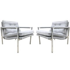 Pair of Lounge Chairs Manner of Harvey Probber