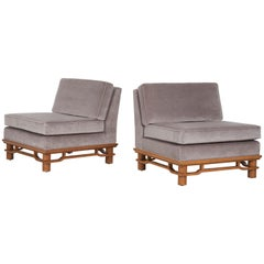 Pair of Lounge Chairs Micheal Taylor