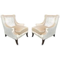 Pair of Lounge Chairs Style of Robsjohn-Gibbings