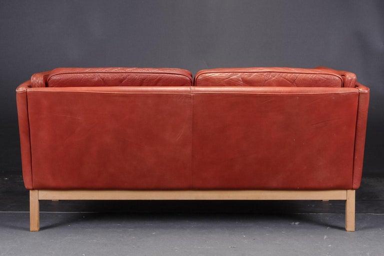 Scandinavian Modern Pair of Loveseats by Vatne Møbler For Sale