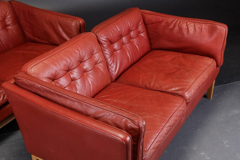 Danish Pair of Loveseats by Vatne Møbler For Sale