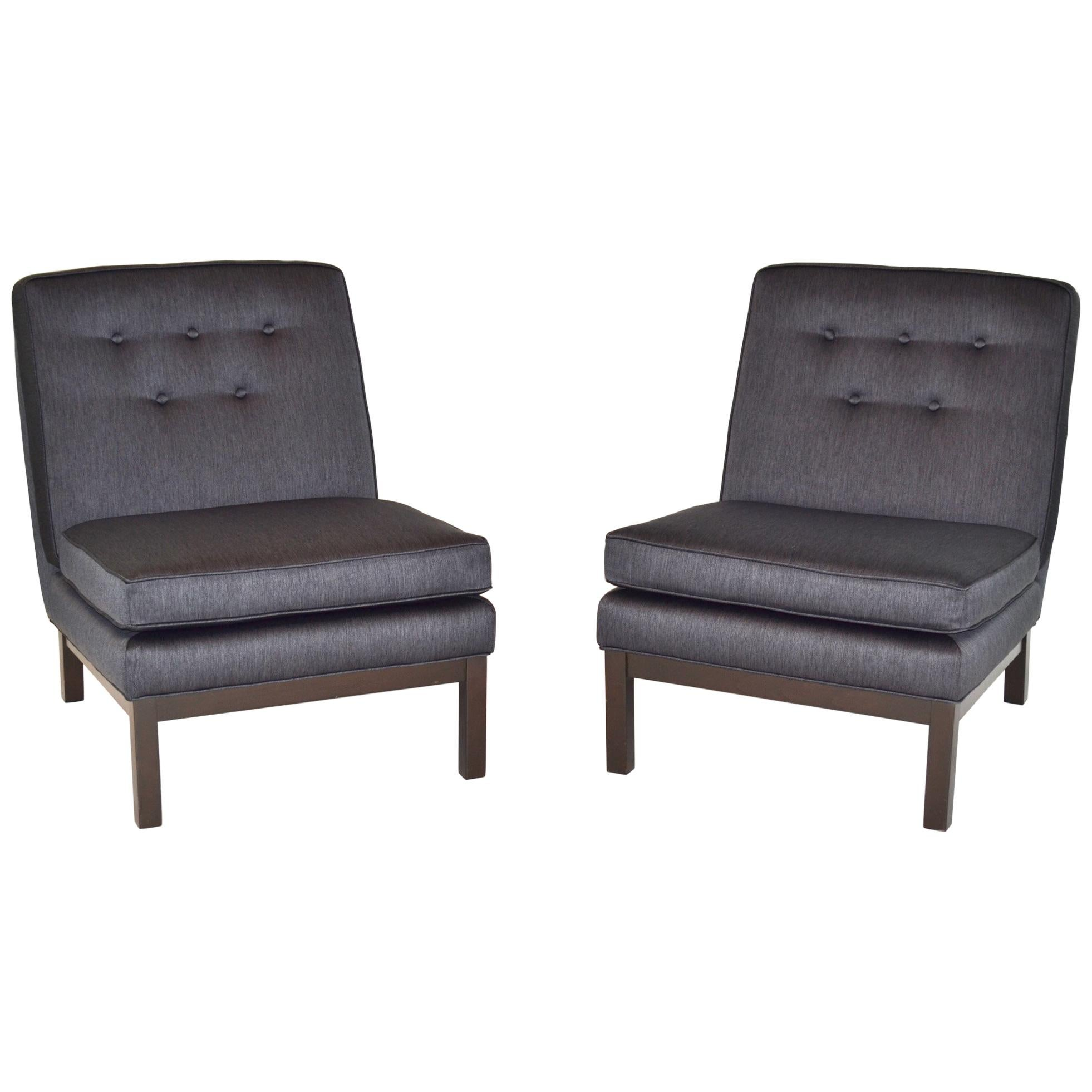 Pair of Slipper Lounge Chairs After Harvey Probber Mid-century