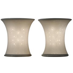 """Pair of """"Lucilla"""" Table Lamps By Gianfranco Frattini"""