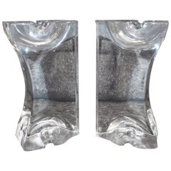 Pair of Lucite Bookends
