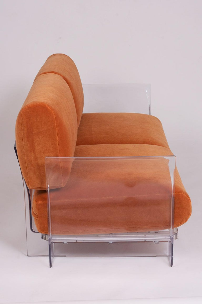 Pair of Lucite Loveseats or Sofas by Piero Lissoni for Kartell For Sale 3