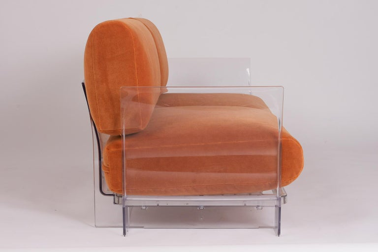 Pair of Lucite Loveseats or Sofas by Piero Lissoni for Kartell For Sale 4