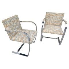 Pair of Ludwig Mies van der Rohe Brno Chairs