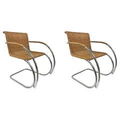 Pair of Ludwig Mies van der Rohe MR20 Chairs
