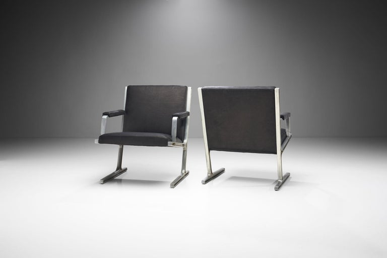 """Danish Pair of """"Lufthavns Stole"""" Chairs by Ditte Heath and Adrian Heath for Cado, Den For Sale"""