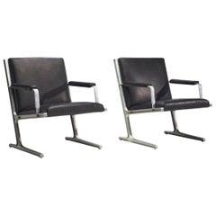 "Pair of ""Lufthavns Stole"" Chairs by Ditte Heath and Adrian Heath for Cado, Den"