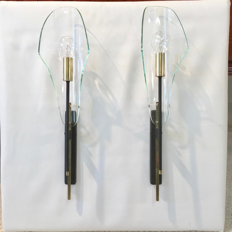 Pair of Luigi Molin Sconces In Good Condition For Sale In Hingham, MA