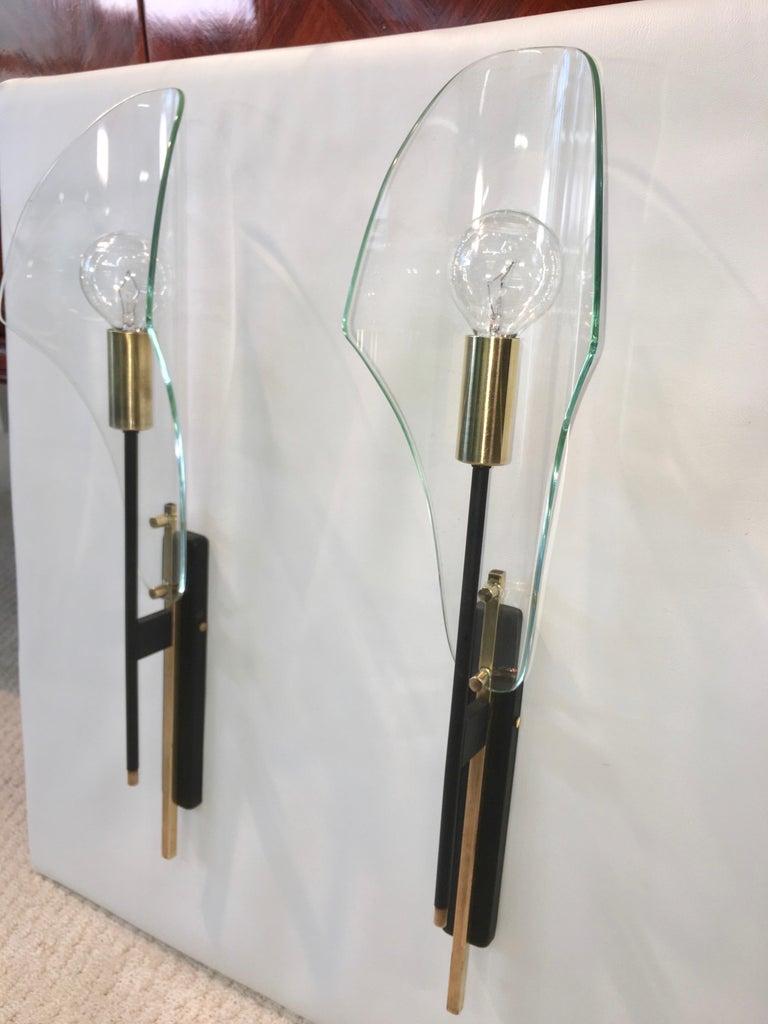 Pair of Luigi Molin Sconces For Sale 1