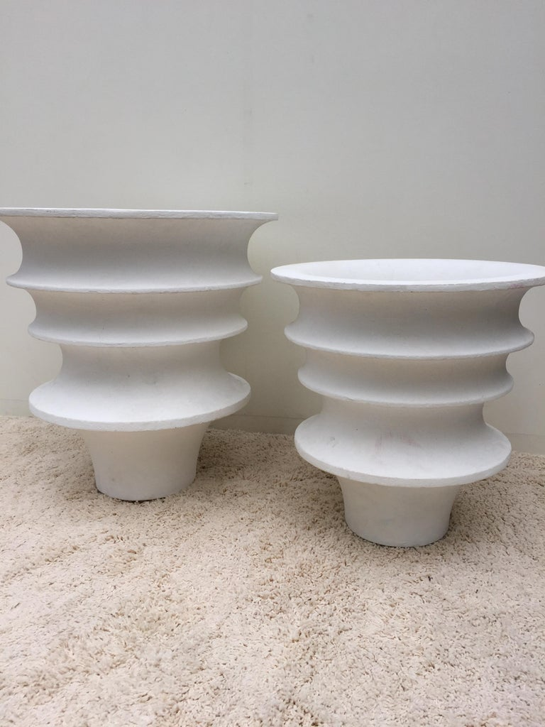 Luigi Moretti architectural planters midcentury from the