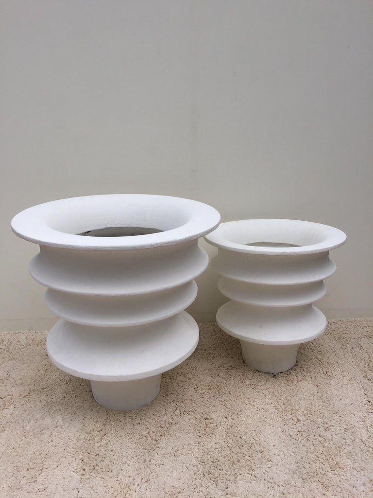American Pair of Luigi Moretti Planters Modernist from
