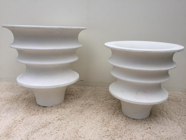 20th Century Pair of Luigi Moretti Planters Modernist from