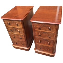 Pair of Mahogany Bedside Cabinets or Chests