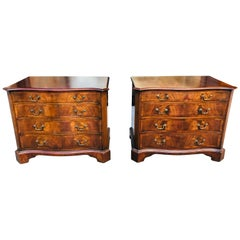 Pair of Mahogany Chests or Bedside Stands