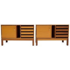 Pair of Mahogany Credenzas by Christian Hvidt