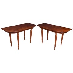 Pair of Mahogany Hall Tables