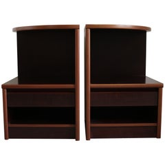 Pair of Mahogany Nightstands