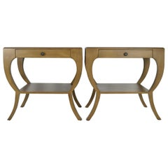 Pair of Mahogany Nightstands or Side Tables