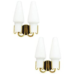 Pair of Maison Arlus 1950s Sconces