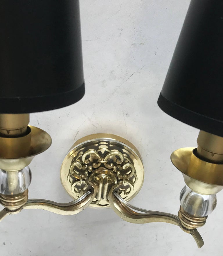 Pair of Maison Arlus Sconces In Good Condition For Sale In Miami, FL